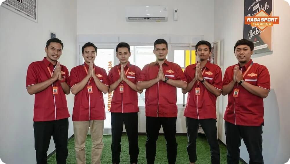 Team Raga Sport Flooring Men