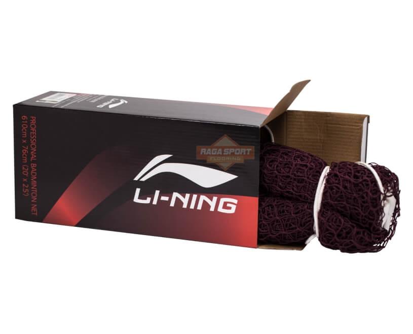 harga net badminton lining