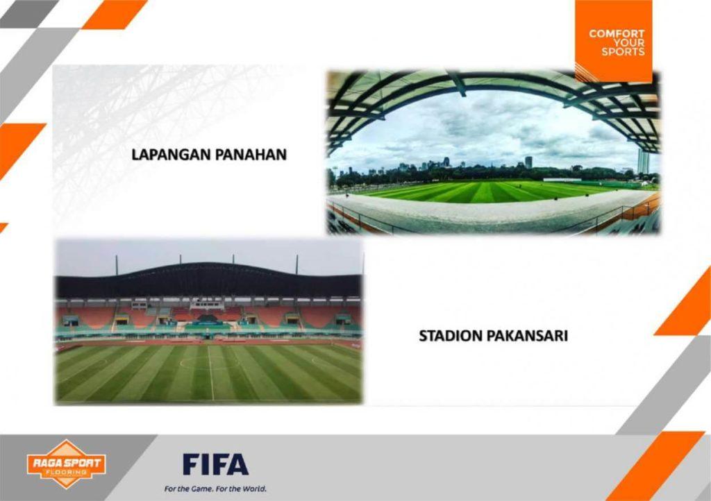 kontraktor lapangan sepak bola